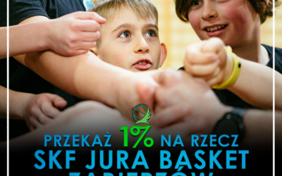 Twój 1% może pomóc w rozwoju młodych koszykarzy!