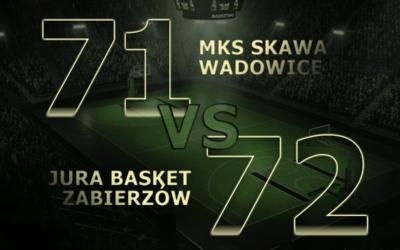Wygrywamy z MKS Skawa Wadowice!!!